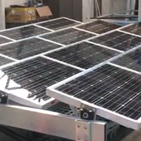 Sun-Tracking Photo Voltaic Louvres
